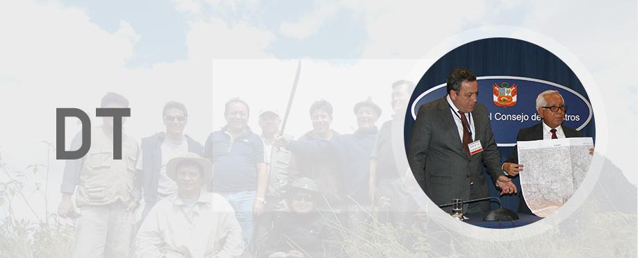 <h2>BIENVENIDO A DEMARCACIÓN TERRITORIAL.</h2><p> <p>Acá podrás encontrar información útil sobre el trabajo de DEMARCACIÓN desarrollados para la Región de Cajamarca.</p> </p>
